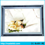 Акриловые Тонкий Кристалл LED Light Box с сертификатом CE