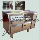 Máquina de estaca de corte em cubos do processamento vegetal da carne do alimento