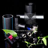 Pipe noire de HDPE de la pipe Pn20 de la taille 415mm pour l'approvisionnement en eau