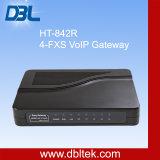 4 Gateway de VoIP FXS das portas/telefone de VoIP/adaptador telefone de VoIP (HT-842R)