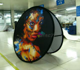 Impresión a todo color Durable Round / Circle A-Frame Pop Up Display Banners