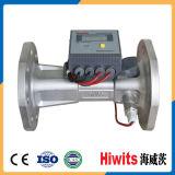 Sonde de débit liquide ultrasonique de mètre de chaleur de coût bas