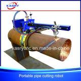 Vente chaude ! Machine de découpage en acier de commande numérique par ordinateur de tube en métal de pipe de pipe portative de fer