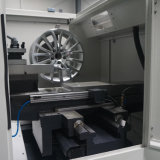 Legierungs-Rad-Reparatur-Polnisch-Maschinen-elektrische Drehkopf CNC-Drehbank Awr2840PC