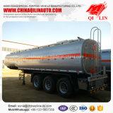 Poids total 40 tonnes de camion-citerne de remorque semi pour le chargement de liquides inflammables