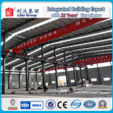 Costruzione d'acciaio prefabbricata del magazzino d'acciaio d'acciaio dell'officina