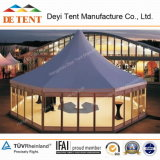Hexagone Exhibition Tent avec Glass Wall