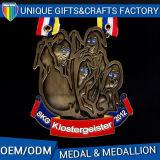 El metal de bronce antiguo de encargo 2017 se divierte el medallón