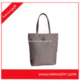 Fördernde Baumwollsegeltuch-Einkaufstasche billig 100% mit Einkaufstasche