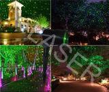 Luz por atacado do duende, Red+Green novo que move o laser do jardim de flor oito para a decoração da árvore de Natal