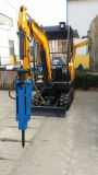 Breakerの1800kg Mini 0.1m3 Small Excavator