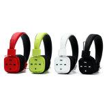 Eingebrannter Kopfhörer neue Kopfhörer-Kopfhörer mit Mic und Lautstärkeregler