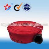 Manichetta antincendio di gomma della tela di canapa del rivestimento del PVC di alta qualità