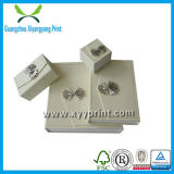 A fábrica fêz a alta qualidade e a caixa de jóia de papel feita sob encomenda barata
