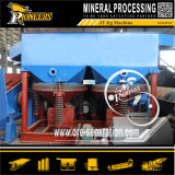 Nasse aufbereitende Mineralspannvorrichtungs-Maschinen-Schwerkraft-rüttelnde Trennzeichen-Fabrik