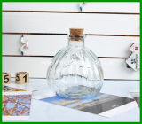 150ml se dirigen la botella de cristal del difusor del aroma de Docor con el corcho de madera