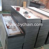 Bâti en aluminium de miroir de profil