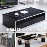 銀製のDragon Black Marble Tea TopかBar Top/Front Desk/Coffee Top/Restaurant Table Top