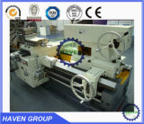 Máquina horizontal resistente do torno CW61100Dx14000, máquina de giro horizontal