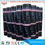 3mm Sbs wijzigden Bitumineus Waterdicht Membraan met Duidelijke Oppervlakte