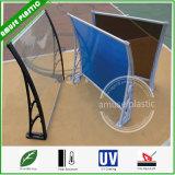 Tente de DIY, obturateur de guichet de porte, tente de cloche d'ombre de jardin de polycarbonate