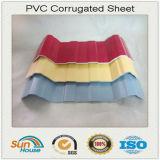 PVC ondulé Sheets de Plastic Roofing à vendre