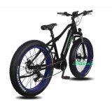 Bici eléctrica del neumático gordo grande de la potencia de la batería del neumático 48V 500W 750W Samsung de la promoción 26*4.0
