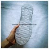 Tessuto del ricamo per la mascherina di calzature con la suola dell'iniezione del PVC