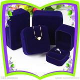 Роскошная коробка ювелирных изделий сделанная пластмассы и Velvet-Ys89