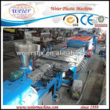 Machine d'extrusion de descripteur de construction de WPC