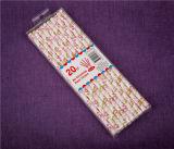 El partido de la fuente de 2016 partidos ahueca la paja del plástico de las pajas de beber del papel