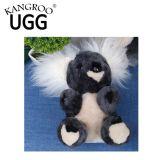 Koala animale diritto del giocattolo della peluche australiana genuina della pelle di pecora per i capretti
