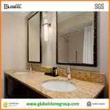 "Granite su ordinazione Vanity Tops con 4 "" Backsplash per le serie di Hotel Embassy"