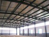 Edificio de la estructura de acero (edificio material del metal)