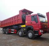 Sinotruk HOWO 8X4 12 Rad-Lastkraftwagen mit Kippvorrichtung/Kipper