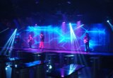 Visualizzazione di LED leggera, visualizzazione di comitati chiara gigante della maschera LED dell'affitto P3 HD dello schermo del LED