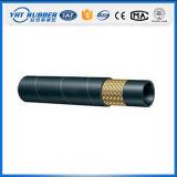 En853 1sn 2sn, tuyau en caoutchouc de tresse de fil de SAE100 R1 R2at