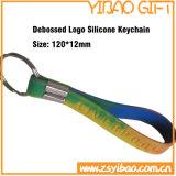 De Armband van de Sleutelring van het Silicone van de douane voor de Giften van de Herinnering (yb-sw-32)