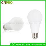Энергосберегающая пластмасса с алюминиевым освещением света шарика СИД с гнездом E26 E27 B22