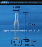 Bottiglia di vetro senza piombo con il Lungo-Corpo per vino