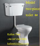 Toletta a due pezzi della stanza da bagno di Twyford in articoli sanitari dalla fabbrica
