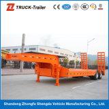 3 Axles 13m длины 60tons Gooseneck Lowbed трейлер Semi