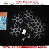 De nieuwe LEIDENE van de Decoratie van de Vakantie van de Sneeuwvlok van het Ontwerp Lichten van Kerstmis
