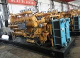 Generador refrigerado por agua del gas de la pizarra de Lvhuan 600kw del alternador de Siemens de los generadores industriales