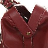 Saco genuíno do escudo do ombro da forma das mulheres dos sacos de couro da bolsa do desenhador