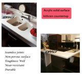 Basin&Sink de superfície contínuo acrílico