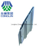 Perfiles de aluminio cerrados de la protuberancia del carril ligero