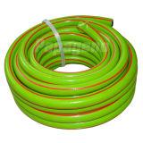 Manguito de jardín flexible ligero del verde de 3/4 pulgada