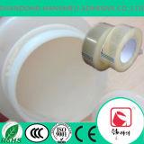 Cinta transparente BOPP de adhesivo sensible a la presión de agua