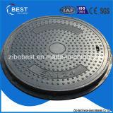 B125 En124 SMC는 700*50mm FRP GRP SMC 맨홀 뚜껑을 돈다